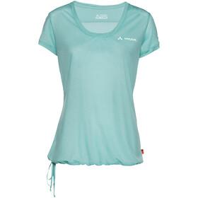 VAUDE Vallanta II Camiseta manga corta Mujer, glacier